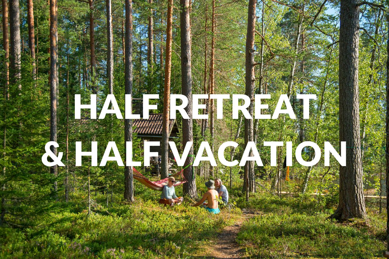 Half Retreat & Half Vacation Retreat In Finland | 26-30 May 2021