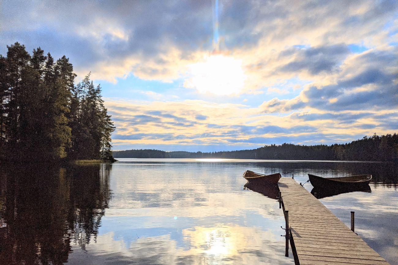 Lake In Orivesi Finland